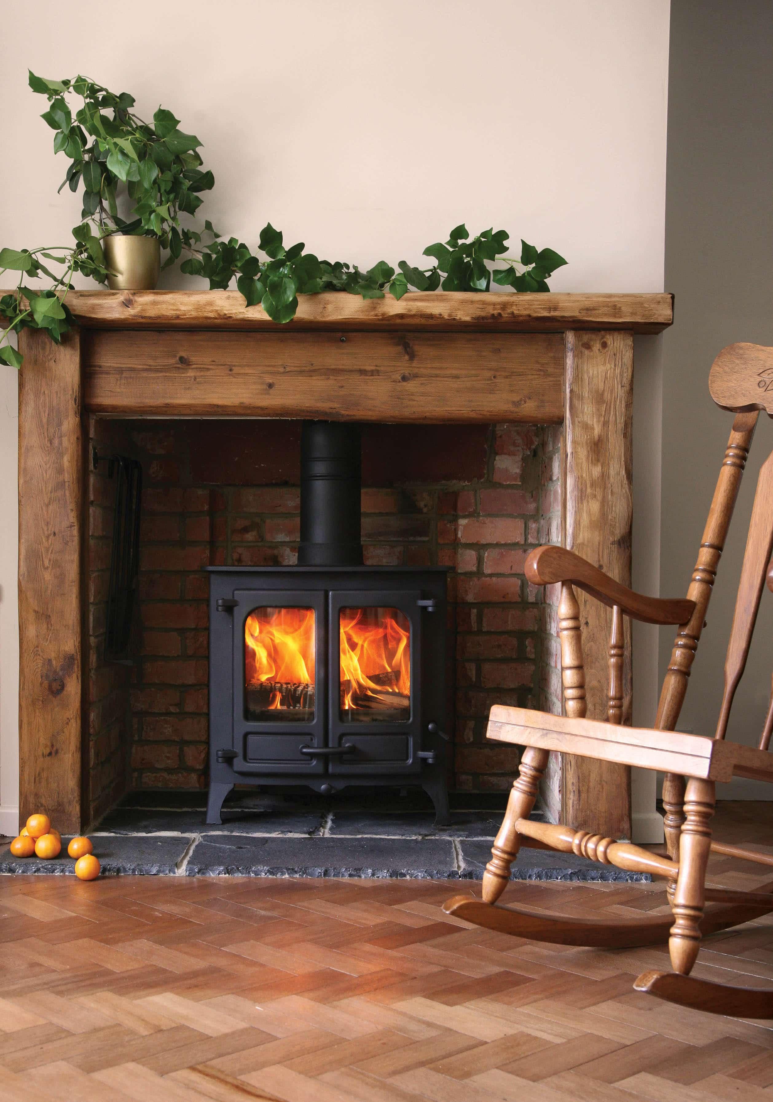 ignite stoves fireplaces island ii multi fuel stove. Black Bedroom Furniture Sets. Home Design Ideas