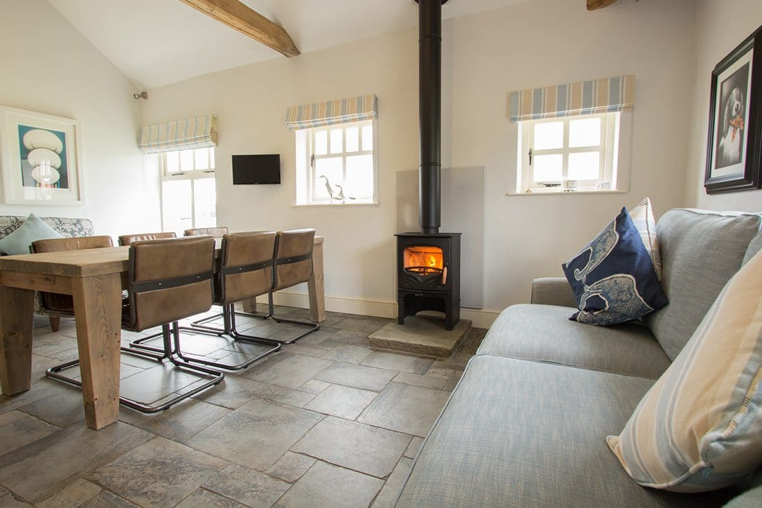 Ignite Stoves U0026 Fireplaces | Charnwood Bembridge In Barn Conversion Kitchen