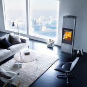 35 Wood burning stove