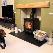 C-Five wood burning stove Charnwood