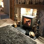 i5 wood burning stove Grey