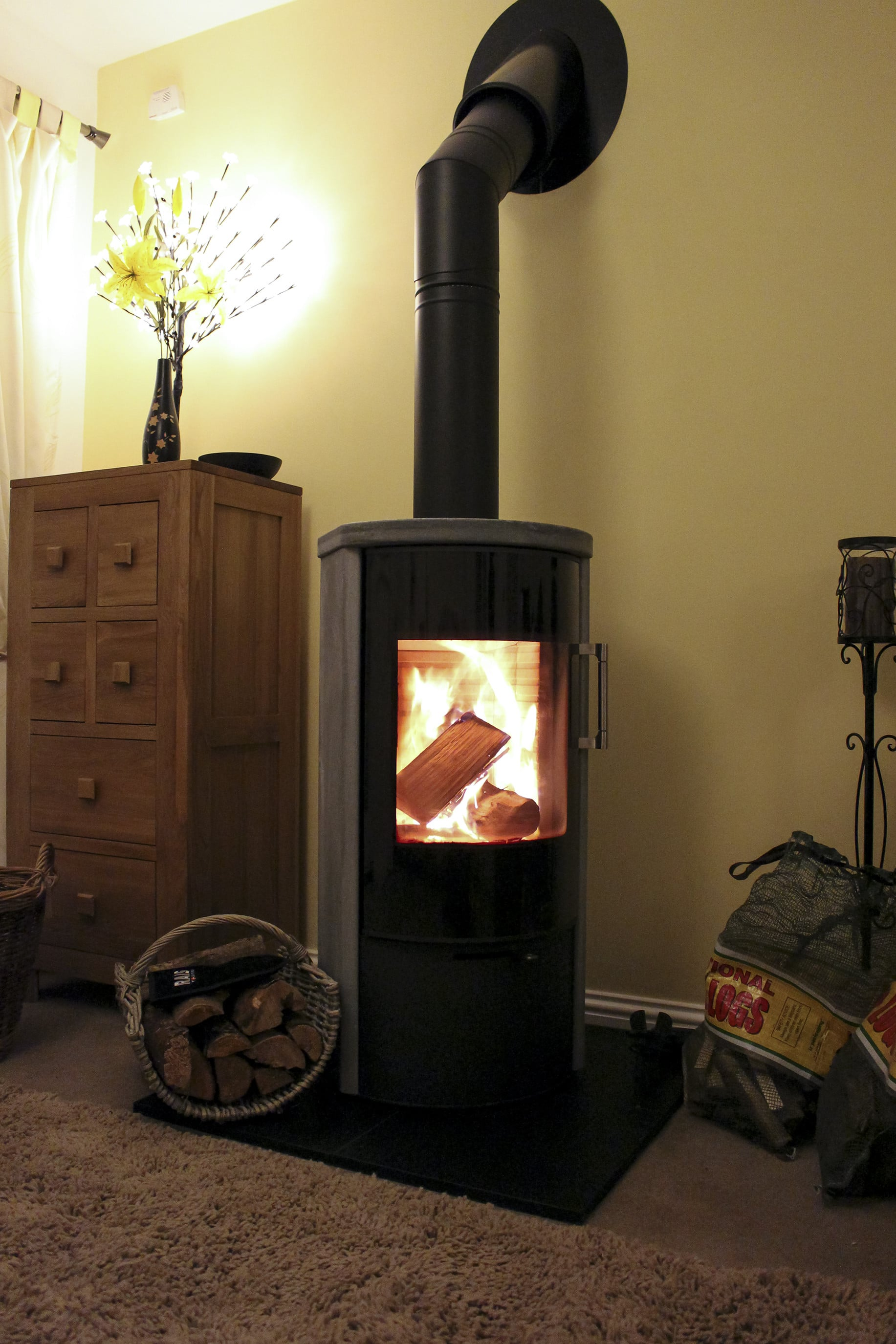 Ignite Stoves Amp Fireplaces Rais Rina Woodburning Stove
