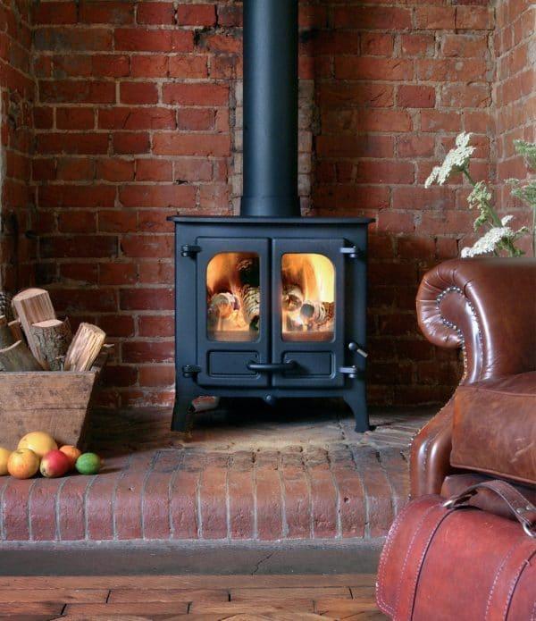 charnwood island i wood burner