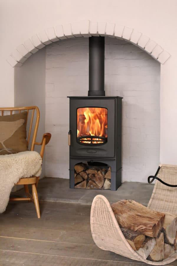 Charnwood C-Eight Multi fuel stove