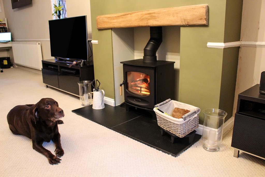 C-Five wood burning stove Charnwood