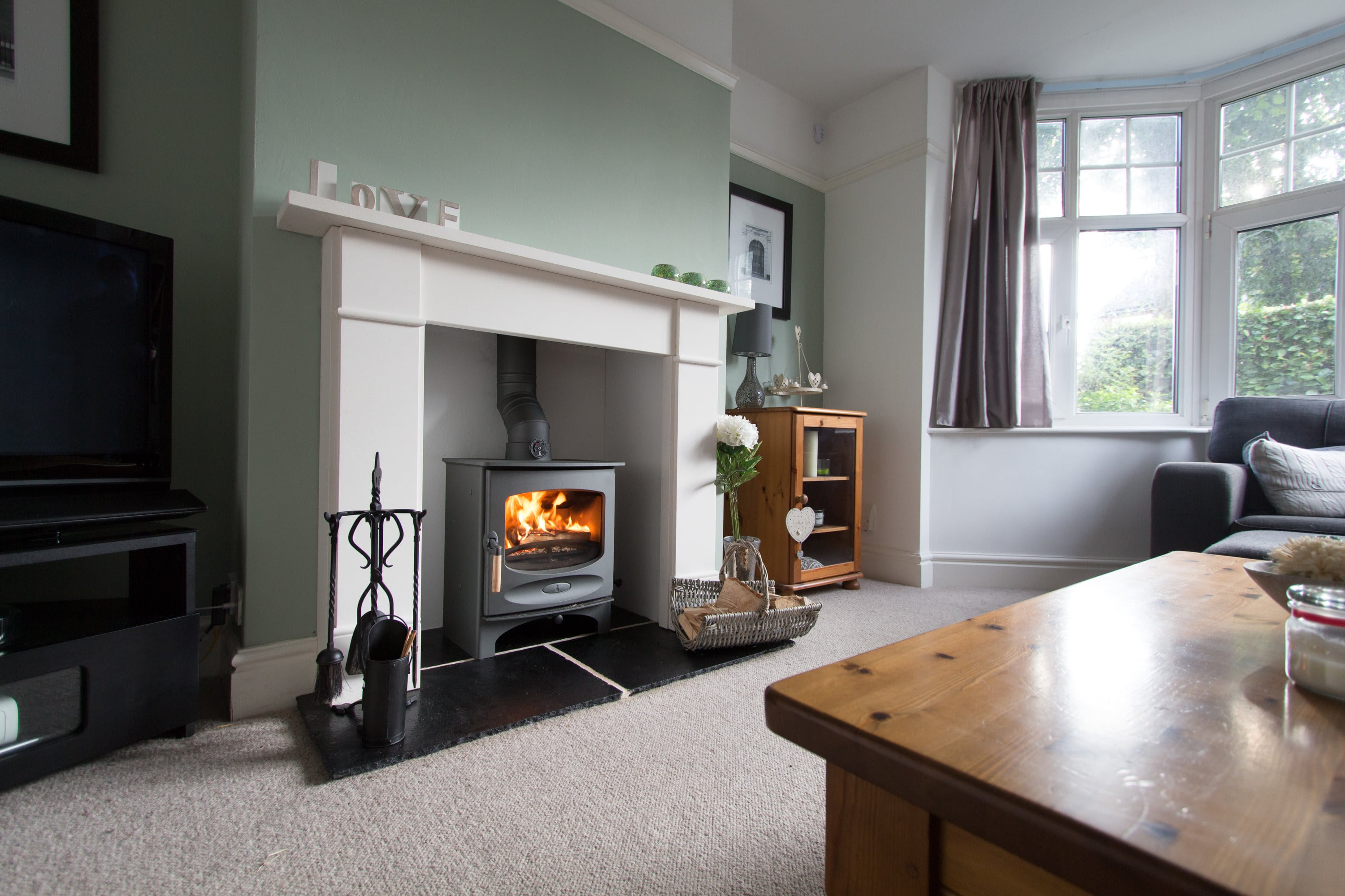 Charnwood C-Five with a Victorian Fireplace