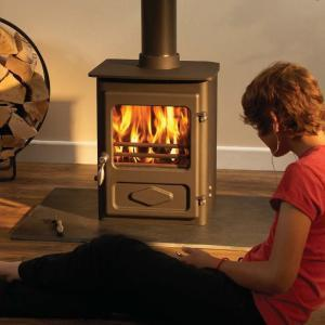 Woodwarm foxfire free standing stove