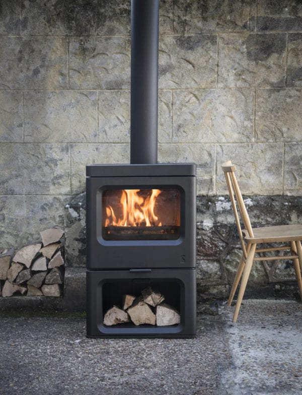 Charnwood Skye 5 black wood burner