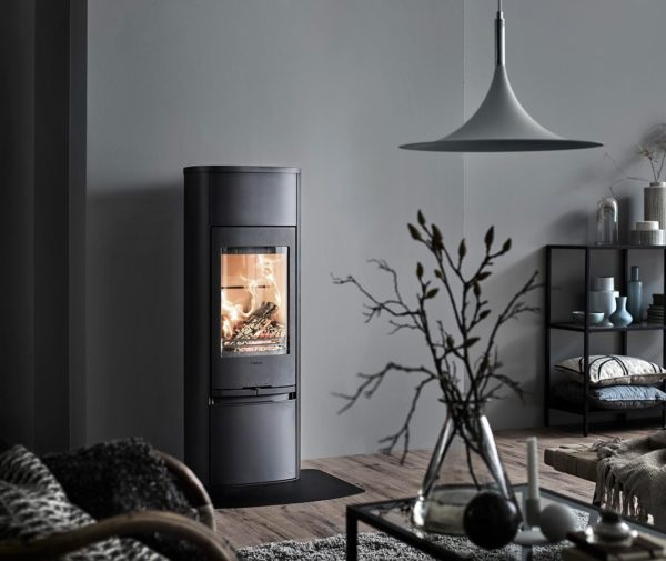 Contura contemporary woodburner