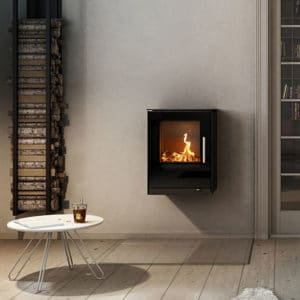Q-Tee wall mounted fire