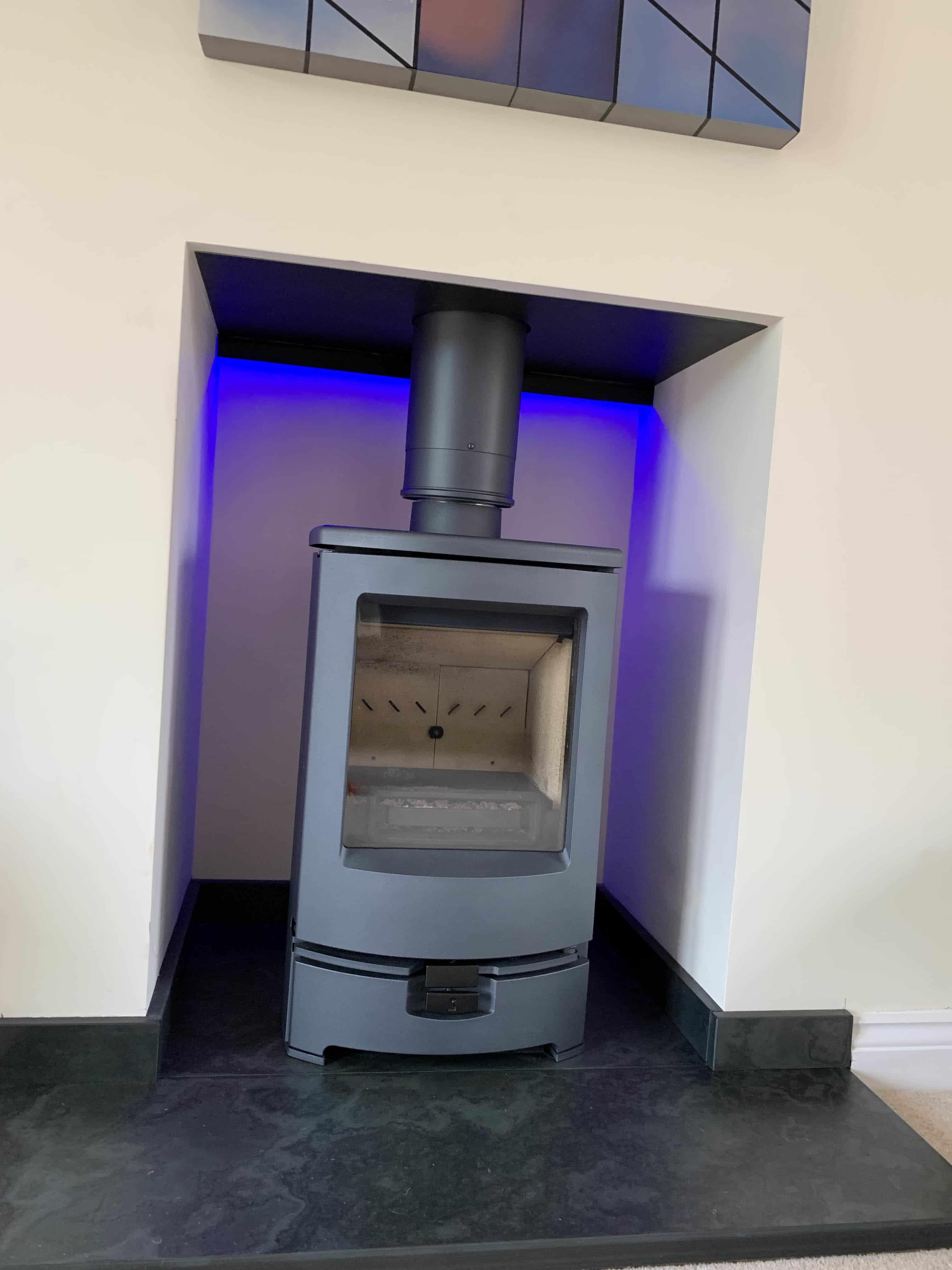Arc 5 Woodburning & Multi-Fuel Stove – Ignite Stoves