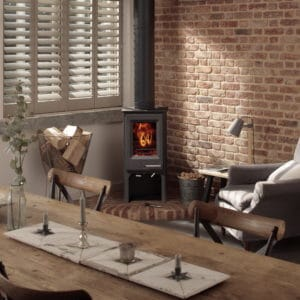 Woodwarm Firewren Woodburning & Multi-Fuel Stove