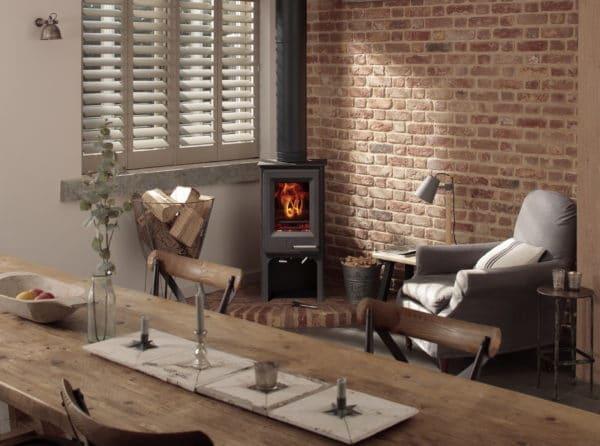 Woodwarm Firewren Woodburning & Multi-Fuel Stove