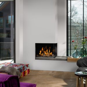 Barbas Bellfires Small Corner gas fire