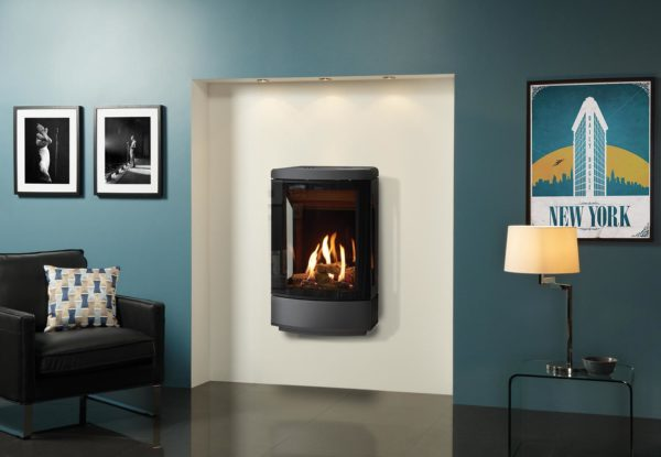 Gazco Loft Wall hung gas stove