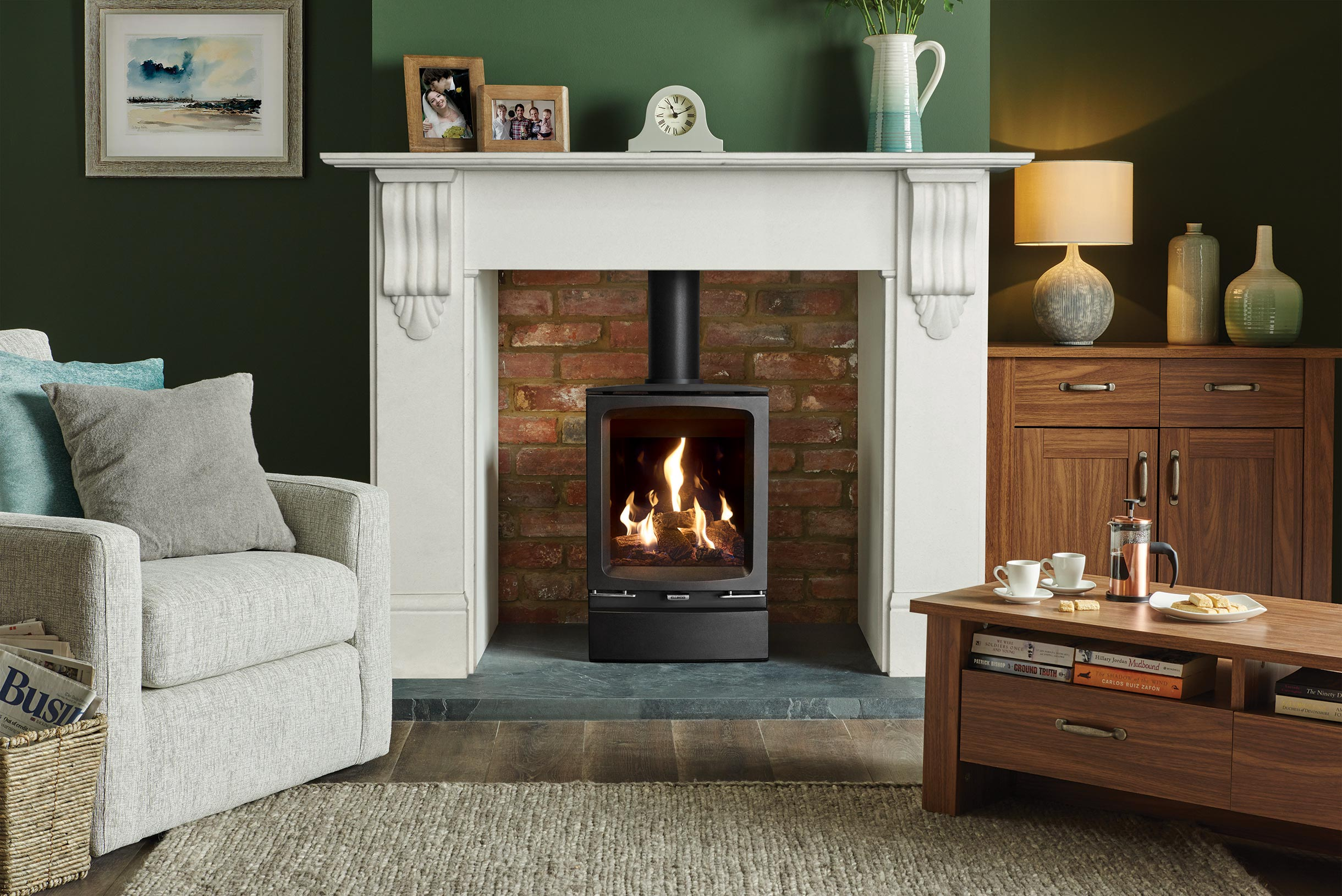 Gazco Vogue Gas Stove