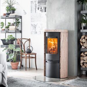 Contura Sandstone log burner