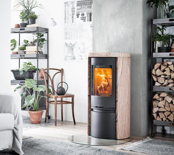 Contura Sandstone log burner