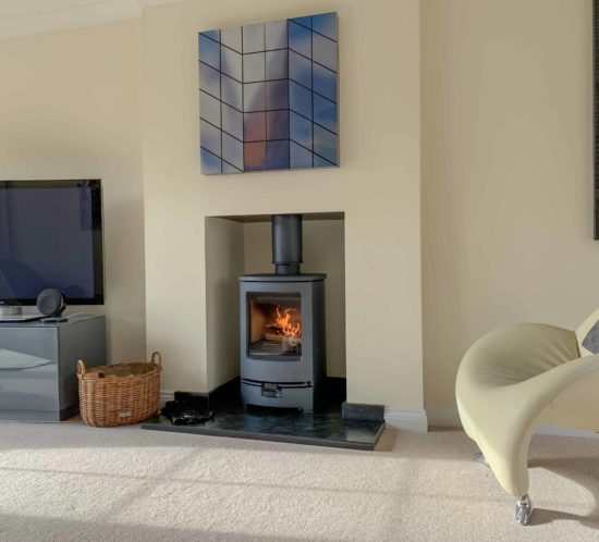 charnwood arc wood burner stove
