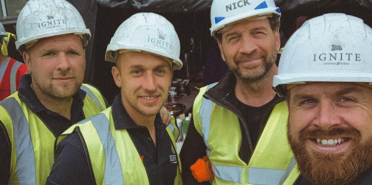 DIY SOS - Ignite Stoves Installation Team