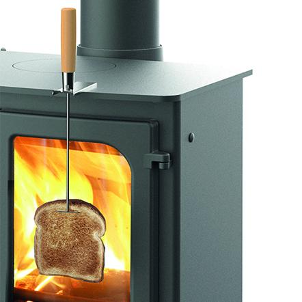 charnwood wood burner toasting fork