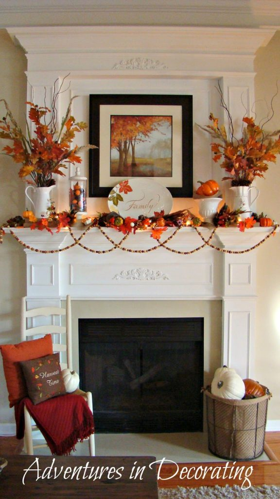 Fireplace Autumn