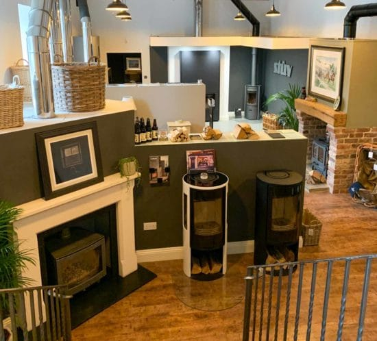 Ignite Stoves Log Burner Showroom